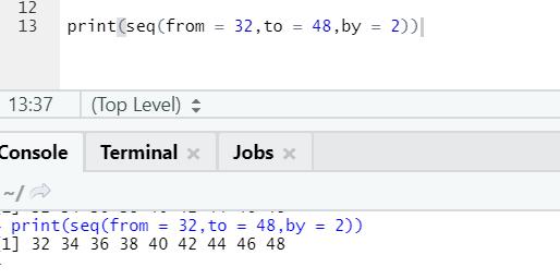 R code output 3