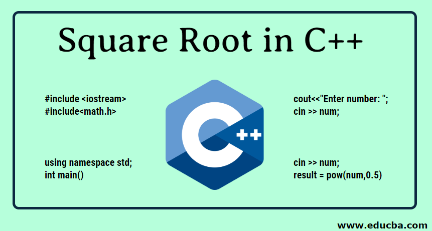 Square Root in C++