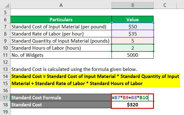 Standard Cost Formula-1.2