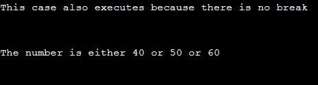 Switch Statement in C++ 2