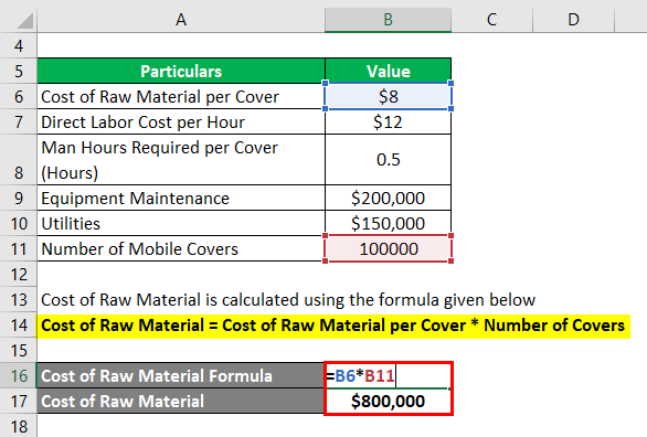 how to calculate variable cost