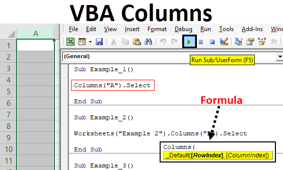 VBA Columns
