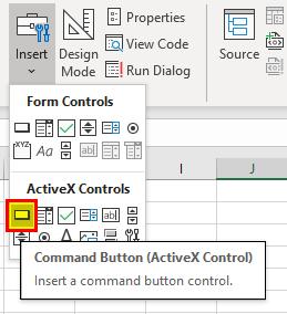 VBA Insert Row Example 1-3
