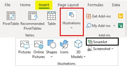 Venn Diagram in Excel 1-2