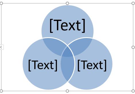 Venn Diagram in Excel 1-4