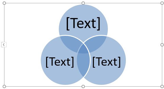 Venn Diagram in Excel - Union 3