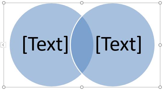 Venn Diagram in Excel -Union 4