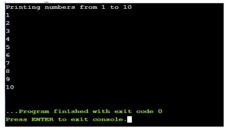 While Loop in Java-1.2