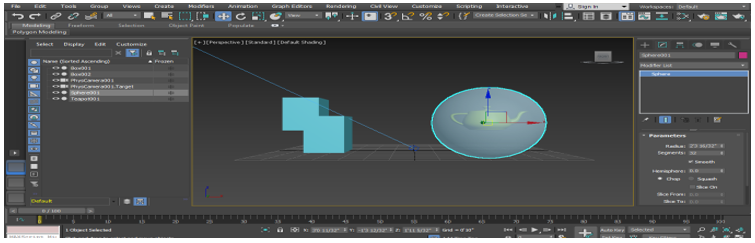 X-ray mode 3D Max short cut