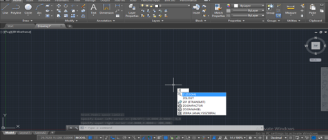 Applying the Limit ( Lines in AutoCAD )