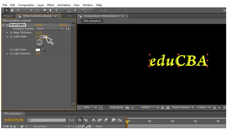 Text Animation in After Effects 7
