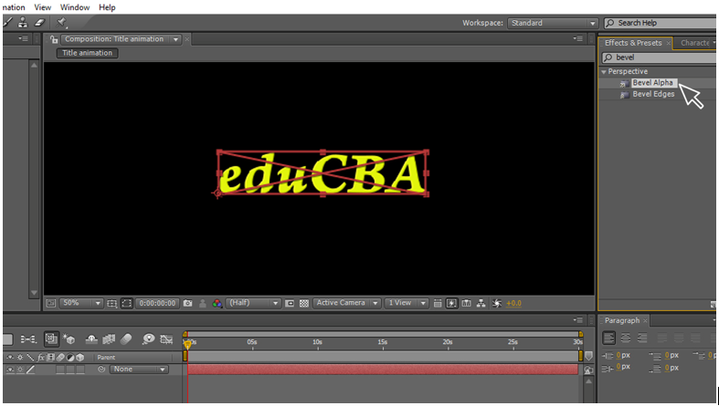 Text Animation in After Effects 6