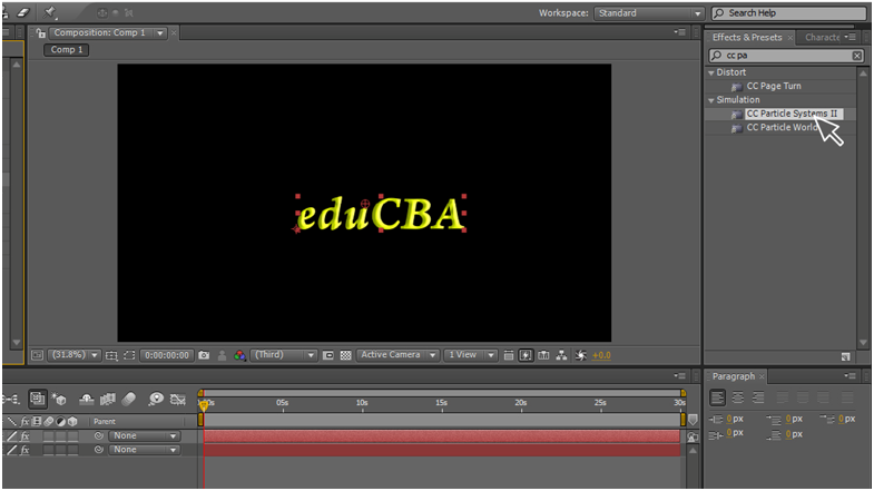 Text Animation in After Effects 9