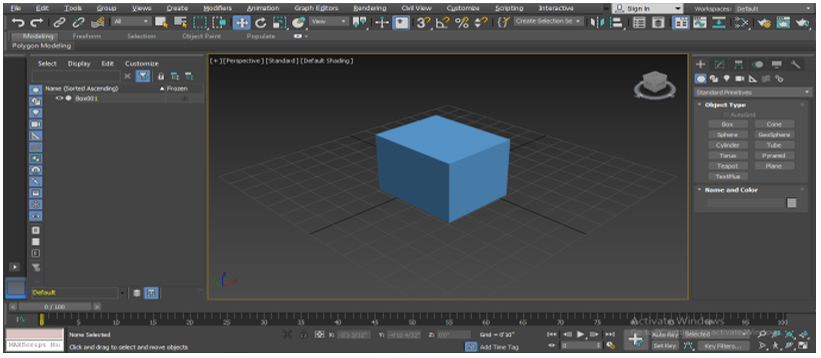Texture in 3Ds Max - Draw Object