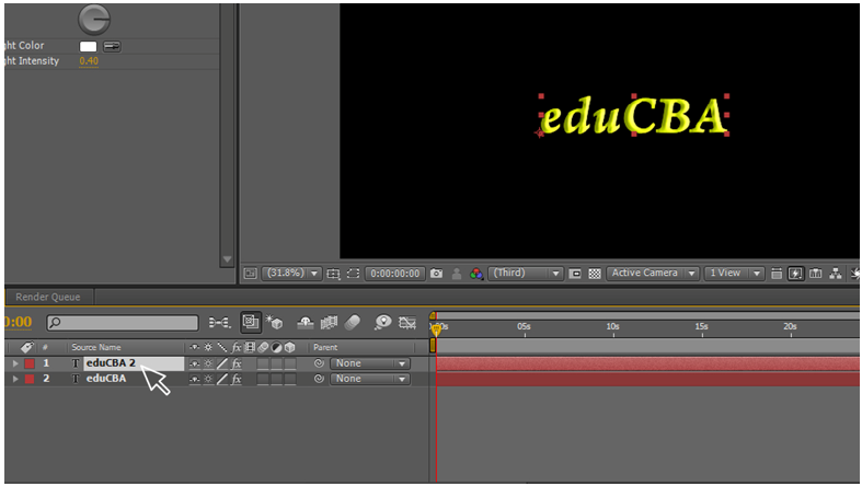 Text Animation in After Effects 8