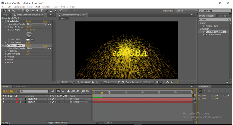 Text Animation in After Effects 10