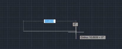 Direction and Length (lines in AutoCAD)
