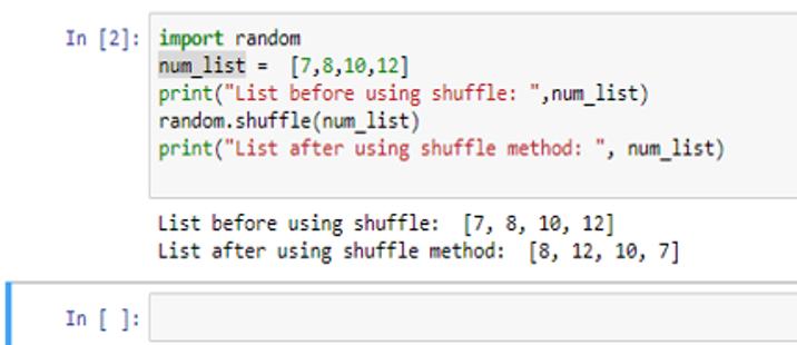 Random Number Generator in Python
