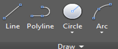 Polyline Tool in AutoCAD Toolbar