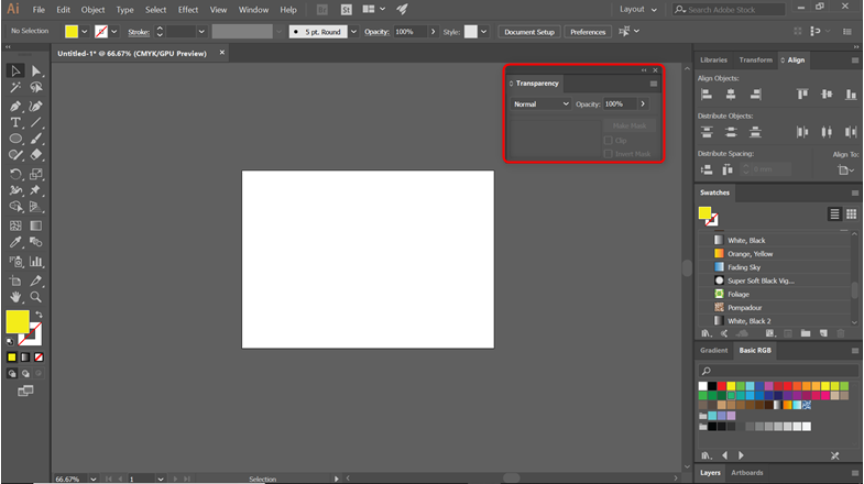 Blending Modes in Illustrator - Blend Modes
