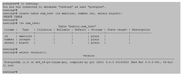 postgre SQL 1
