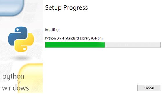 progression screen
