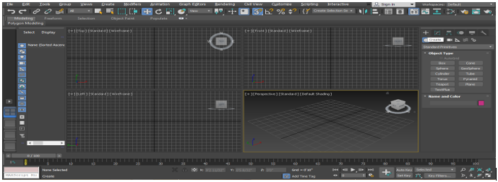 Rigging in 3ds Max step 1