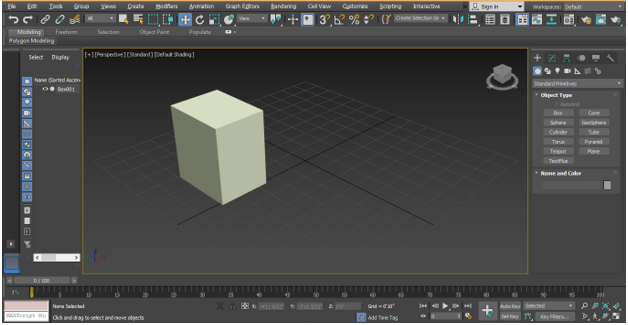 Rigging in 3ds Max step 7