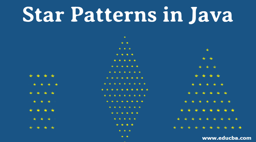 star patterns in java