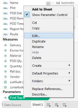 Parameter Control