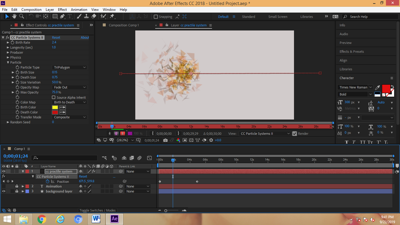 tripolygon in after effects