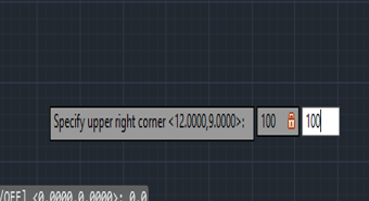 upper limit in AutoCAD Toolbar