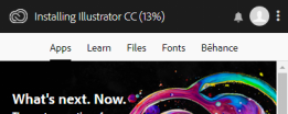 Installing Illustrator