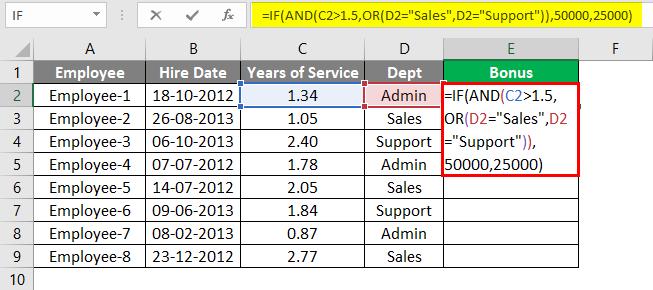 Advanced Formulas in Excel 3-2