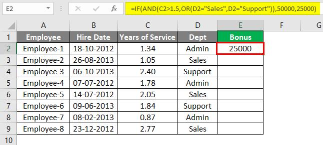 Advanced Formulas in Excel 3-3