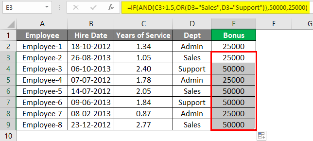 Advanced Formulas in Excel 3-4