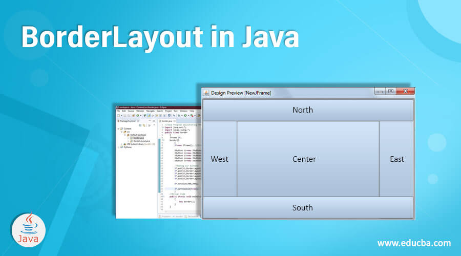 BorderLayout in Java