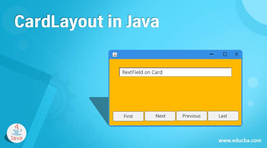 CardLayout in Java