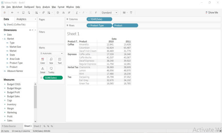 CrossTab in Tableau-1.5