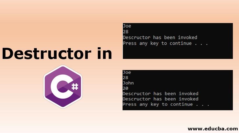 Destructor in C#