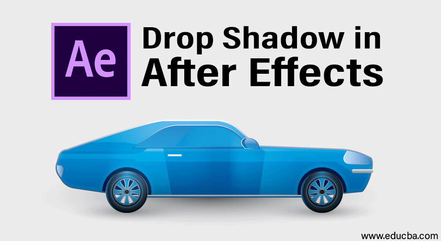 Drop Shadow in After Effects