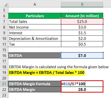 EBITDA Margin-1.3