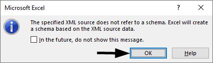 Excel Schema