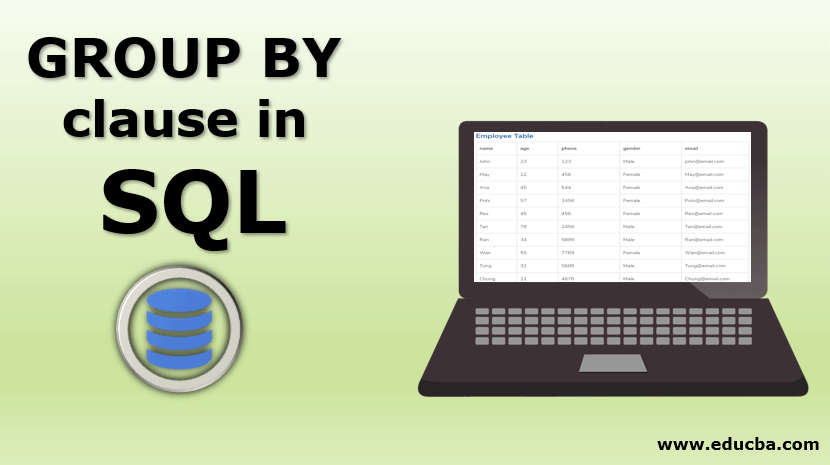 GROUP BY clause in SQL