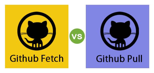 Github Fetch vs Github Pull