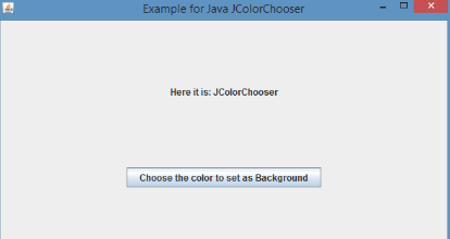 JColorChooser-1.1