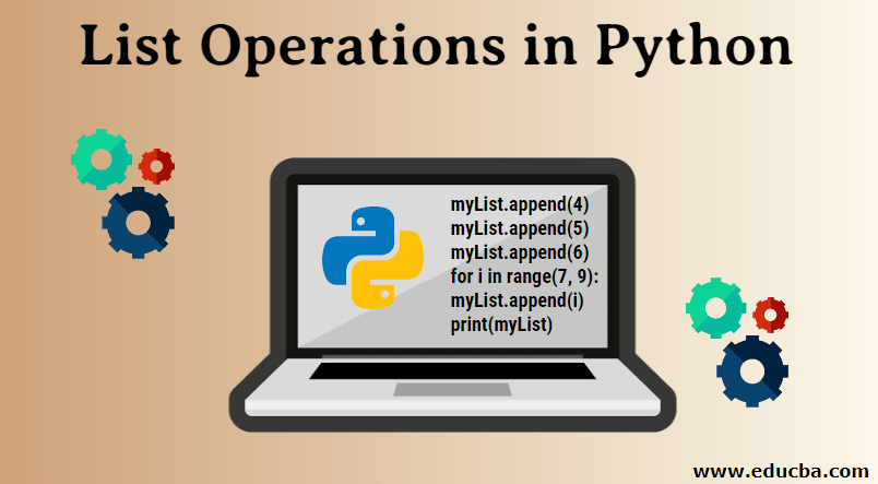 List Operations in Python