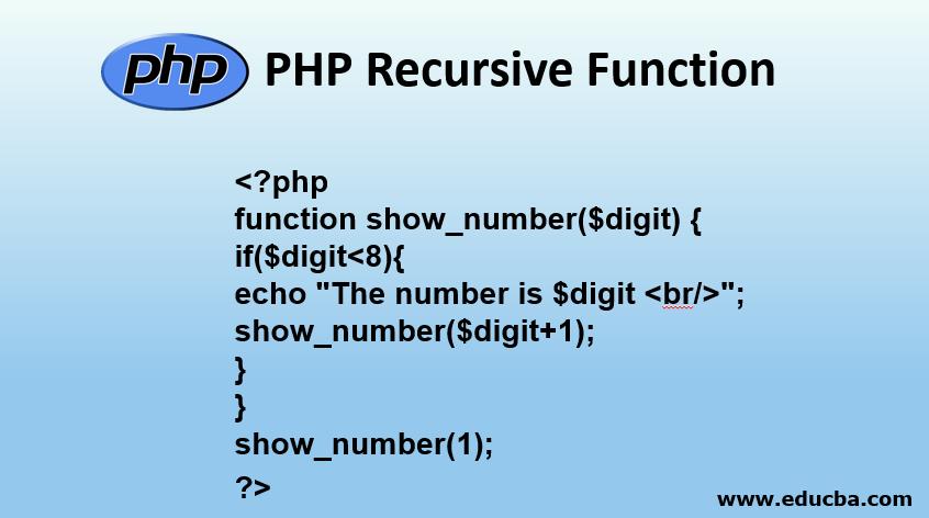 PHP Recursive Function