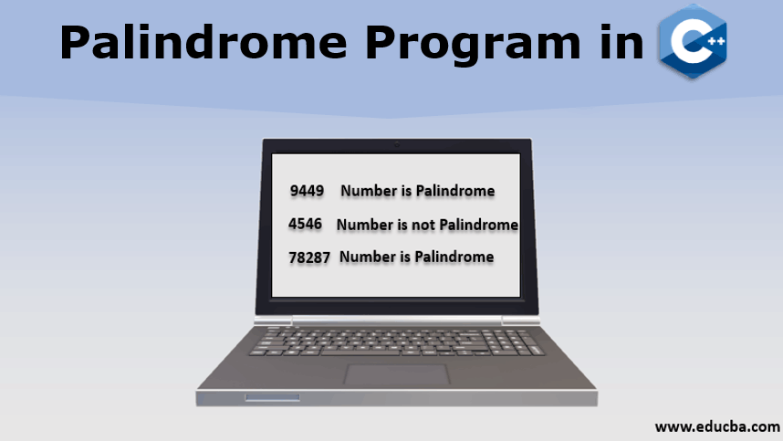 Palindrome Program in C++