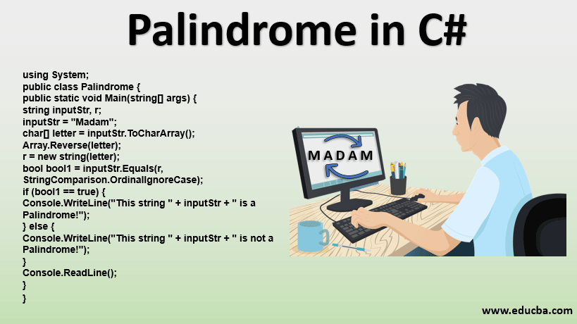 Palindrome in C#